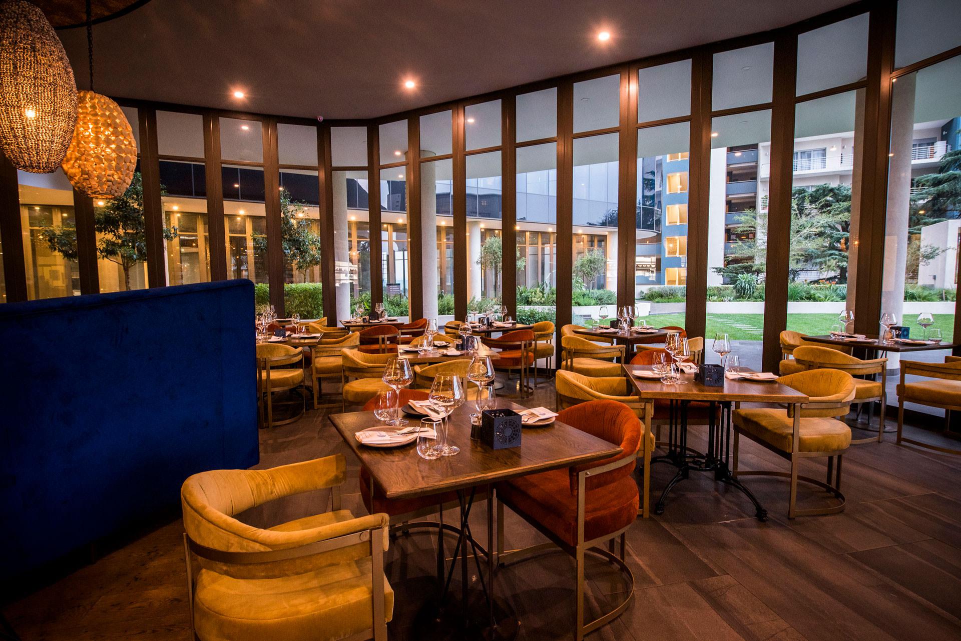 Epicure Restaurant Interior